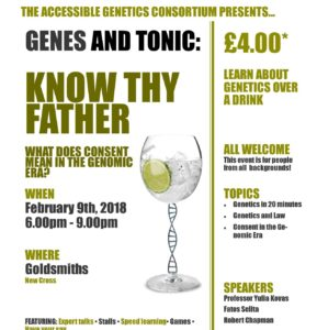 Genes & Tonic Flyer 3 image